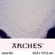 PAPEL ACUARELA ARCHES 356gr. BLANCO NATURAL SATINADO 65x102 cm.