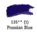 TUBO 8ml. ACUARELA 'AQUAFINE 135' PRUSSIAN BLUE