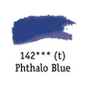 TUBO 8ml. ACUARELA 'AQUAFINE 142' PHTHALO BLUE