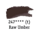TUBO 8ml. ACUARELA 'AQUAFINE 247' RAW UMBER
