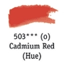 TUBO 8ml. ACUARELA 'AQUAFINE 503' CADMIUM RED (IMITACIÓN)