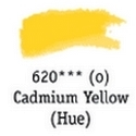 TUBO 8ml. ACUARELA 'AQUAFINE 620' CADMIUM YELLOW (IMITACIÓN)