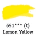 TUBO 8ml. ACUARELA 'AQUAFINE 651' LEMON YELLOW
