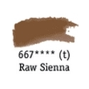 TUBO 8ml. ACUARELA 'AQUAFINE 667' RAW SIENNA