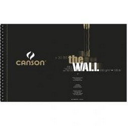 BLOC ROTULADOR A4 'THE WALL' CANSON 220gr. 30h.