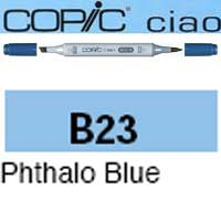 ROTULADOR <b>COPIC CIAO 'B23' PHTALO BLUE</b>
