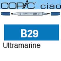 ROTULADOR <b>COPIC CIAO 'B29' ULTRAMARINE</b>
