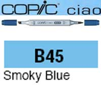 ROTULADOR <b>COPIC CIAO 'B45' SMOKY BLUE</b>