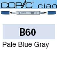 ROTULADOR <b>COPIC CIAO 'B60' PALE BLUE GRAY</b>