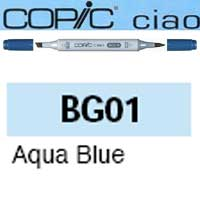 ROTULADOR <b>COPIC CIAO 'BG01' AQUA BLUE</b>