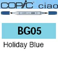 ROTULADOR <b>COPIC CIAO 'BG05' HOLLIDAY BLUE</b>