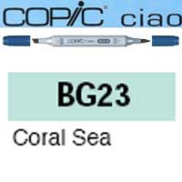 ROTULADOR <b>COPIC CIAO 'BG23' CORAL SEA</b>