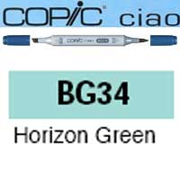 ROTULADOR <b>COPIC CIAO 'BG34' HORIZON GREEN</b>
