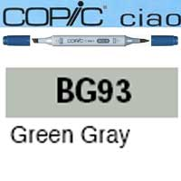 ROTULADOR <b>COPIC CIAO 'BG93' GREEN GRAY</b>