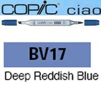 ROTULADOR <b>COPIC CIAO 'BV17' DEEP REDD. BLUE</b>