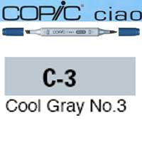 ROTULADOR <b>COPIC CIAO 'C3' COOL GRAY</b>