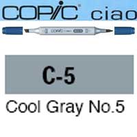 ROTULADOR <b>COPIC CIAO 'C5' COOL GRAY</b>