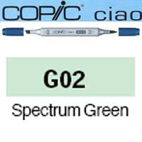 ROTULADOR <b>COPIC CIAO 'G02' SPECTRUM GREEN</b>