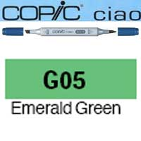 ROTULADOR <b>COPIC CIAO 'G05' EMERALD GREEN</b>