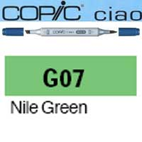 ROTULADOR <b>COPIC CIAO 'G07' NILE GREEN</b>