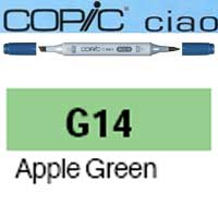 ROTULADOR <b>COPIC CIAO 'G14' APPLE GREEN</b>