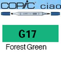 ROTULADOR <b>COPIC CIAO 'G17' FOREST GREEN</b>