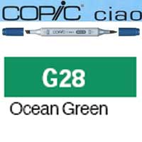 ROTULADOR <b>COPIC CIAO 'G28' OCEAN GREEN</b>