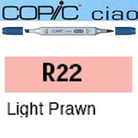 ROTULADOR <b>COPIC CIAO 'R22' LIGHT PRAWN</b>