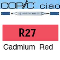 ROTULADOR <b>COPIC CIAO 'R27' CADMIUM RED</b>
