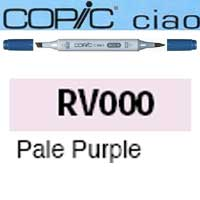 ROTULADOR <b>COPIC CIAO 'RV000' PALE PURPLE</b>