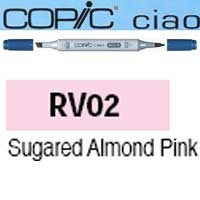 ROTULADOR <b>COPIC CIAO 'RV02' SUGARED ALMOND PINK</b>