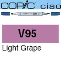 ROTULADOR <b>COPIC CIAO 'V95' LIGHT GRAPE</b>