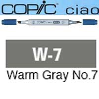 ROTULADOR <b>COPIC CIAO 'W7' WARM GRAY</b>