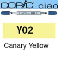 ROTULADOR <b>COPIC CIAO 'Y02' CANARY YELLOW</b>
