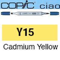 ROTULADOR <b>COPIC CIAO 'Y15' CADMIUM YELLOW</b>