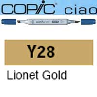ROTULADOR <b>COPIC CIAO 'Y28' LIONET GOLD</b>