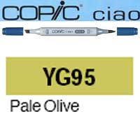 ROTULADOR <b>COPIC CIAO 'YG95' PALE OLIVA</b>