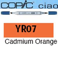 ROTULADOR <b>COPIC CIAO 'YR07' CADMIUM ORANGE</b>