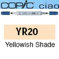 ROTULADOR <b>COPIC CIAO 'YR20' YELLOWISH SHADE</b>