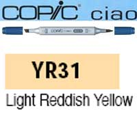 ROTULADOR <b>COPIC CIAO 'YR31' LIGHT REDDISH YELLOW</b>