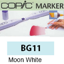 ROTULADOR <b>COPIC MARKER 'BG11' MOON WHITE</b>