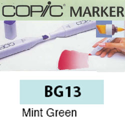 ROTULADOR <b>COPIC MARKER 'BG13' MINT GREEN</b>