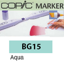 ROTULADOR <b>COPIC MARKER 'BG15' AQUA</b>