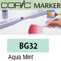 ROTULADOR <b>COPIC MARKER 'BG32' AQUA MINT</b>