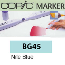 ROTULADOR <b>COPIC MARKER 'BG45' NILE BLUE</b>