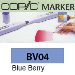 ROTULADOR <b>COPIC MARKER 'BV04' BLUE' BERRY</b>