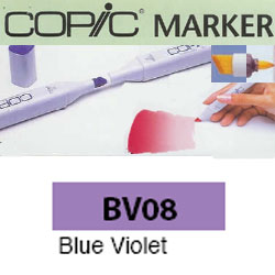 ROTULADOR <b>COPIC MARKER 'BV08' BLUE VIOLET</b>