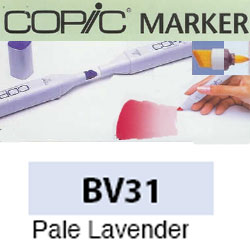 ROTULADOR <b>COPIC MARKER 'BV31' PALE LAVENDER</b>