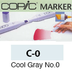 ROTULADOR <b>COPIC MARKER 'C0' COOL GRAY</b>