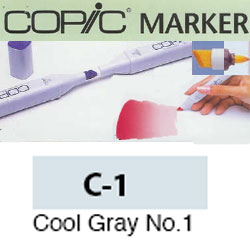 ROTULADOR <b>COPIC MARKER 'C01' COOL GRAY</b>
